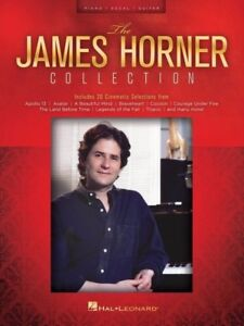 THE JAMES HORNER COLLECTION Piano PVG Book *NEW* Songs