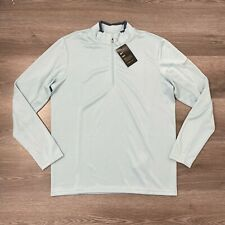 NIKE GOLF DRI-FIT 1/2 HALF ZIP TOP MENS BLUE MEDIUM (833282-452)