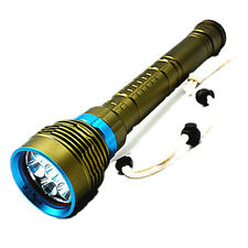 Diving Torch Dx7 Professional Diving 7 L2 26650 Charging 18650 Glare Flash Z8Y5