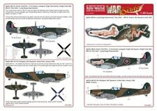 NEW 1:48 Kits World Decals 48063 Supermarine Spitfire Mk.IXc & Spitfire Mk.VIII