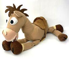 "Disney Store Toy Story Woody's Horse Bullseye 16"" Plush Stuffed Animal ANDY FEET"