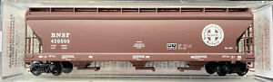 N scale ACF 3 bay Center Flow Hopper BNSF 420505 Micro Trains MTL 94180