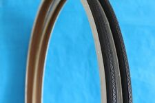 """2x (Pair) 27"""" inch x 1 1/4 Bike Bicycle White Wall Tyres Road (32-630)  4758"""