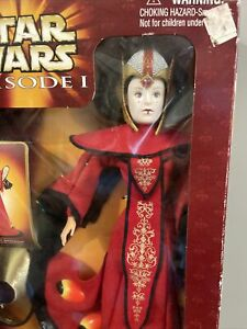 "Star Wars Episode 1 Queen Amidala Doll Royal Elegance 12"" Hasbro 1998! NIB!"