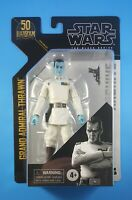 """GRAND ADMIRAL THRAWN Star Wars The Black Series Archive 6"""" Action Figure MOC"""