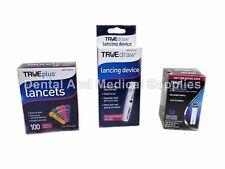 50 TRUE Metrix Test Strips Exp 2019+ TRUEMetrix+100 33G Lancets+lancing device