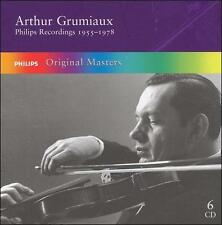 Arthur Grumiaux: Philips Recordings, 1955-1978 (CD, 6 Discs, Philips) Masters