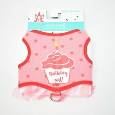 Dog Dazzlers Extra Small Birthday Girl Dog Harness NEW