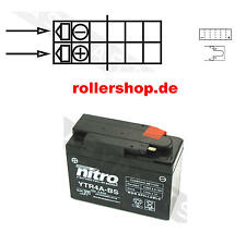 Batterie YTR4A-BS, CTR4A-BS  für zb. Honda Bali 50