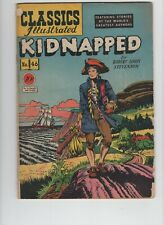 Classics Illustrated #46. Kidnapped by Robert Louis Stevenson, First Print!