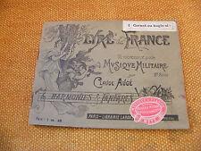 Partitur Musik Militaire Lyra de France Claude Trog 1er Kornett oder Grölen B