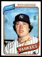 1980 Topps Rich Goose Gossage 5 #140