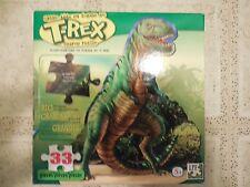 T-Rex Shaped 33 Piece Jigsaw Puzzle