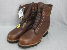 NEW Men's Chippewa Chipp-A-Tex Thinsulate Vibram Brown Leather Boot 13W NWT