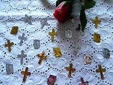 (10g/3,06€) Kommunion Konfirmation Tischdeko Streudeko Bibel Kreuz Silber Gold