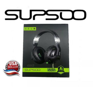 Xbox One,PS4 Stereo Gaming Headset,3.5mm Wired Over Ear Noise Cancelling Gami...