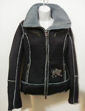Parasuco XS Ladies Jacket Black & Blue Chimera 8-SPIDER Coat Stylish Warm