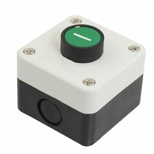 View large image Momentary Green Sign N/O Normal Open Push Button Switch Station