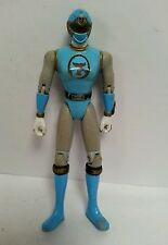 "POWER RANGERS - Blue Wind Ninja Storm 5"" Action Figure Toy Bandai 2002 Rare Toy"