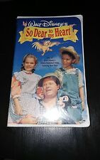 So Dear to My Heart (Brand New Clamshell VHS, 1992)
