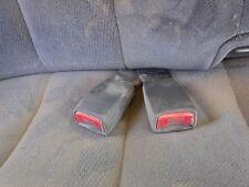 RIGHT PASSENGER SIDE SEAT BELT DOUBLE BUCKLE DARK GREY GMC SIERRA 2500 04