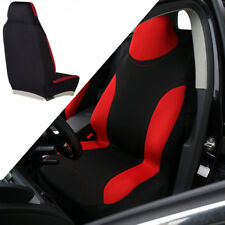 1X Car Bucket Seat Cover Universal Seat Protector Black / Red Auto Accessories