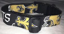 New Orleans Saints XLARGE COLLAR Pet Pro Football Fan Game Gear NFL Shop Team NO