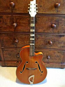 Framus 5/59 Sorella German Jazz archtop guitar in good condition 1959 +