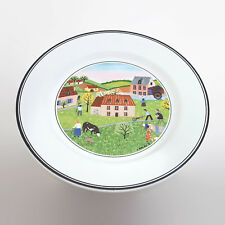 2 Villeroy & Boch Design Naif Spring Morning #2 Bread & Butter Plate 6 3/4""
