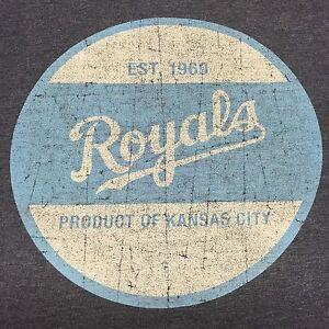 Kansas City Royals Medium Blue T-Shirt MLB baseball World Series Missouri