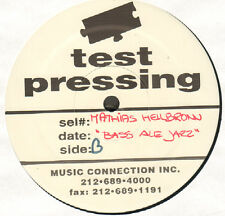 MATTHIAS HEILBRONN - The Bass Ale EP - 4th Floor - FF 2033 - 1999 - Promo