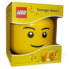 Lego Large Yellow Storage Head - Brand New in Box RETIRED