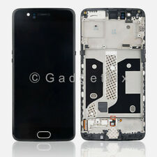 LCD Display Touch Screen Digitizer + Frame Replacement Parts For OnePlus 5 A5000