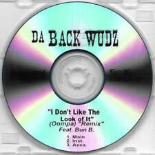 Da Back Wudz: I Don't Like The Look Of It (Oompa) Remix PROMO MUSIC AUDIO CD