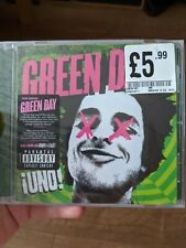 Green Day Uno CD Sealed in Packet with UNO DOS TRES Album Poster Good Condition