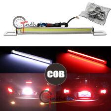 Universal White/Red Dual COB LED Lamp For License Plate Backup Brake or Rear Fog