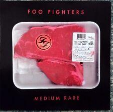 FOO FIGHTERS - MEDIUM RARE, BLACK VINYL LP & INNER SLEEVE ARTWORK, NEW UK IMPORT