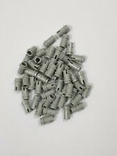 Lego light bluish gray technic, pin 1/2(4274), 25 parts