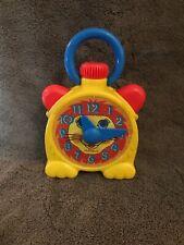 Rare Vintage Playskool Stop'n Go Clock Wind Up , Original 1980s (c1)