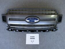 2018 2019 OEM NEW TAKEOFF FORD F150 XLT SPORT MAGNETIC GRAY GRILLE WITH EMBLEM