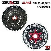 ZRACE Alpha MTB 10s Cassette 10 Speed MTB Lightweight Cassette freewheel 46T/50T