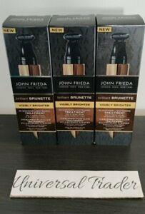 John Frieda Brilliant Brunette In Shower Lightening Treatment 3 x 34ml