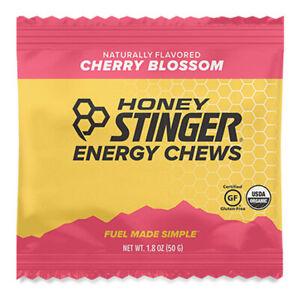 Honey Stinger Organic Energy Chews Cherry Blossom 11 Pack (9 BB 5/21, 2 BB 3/21)