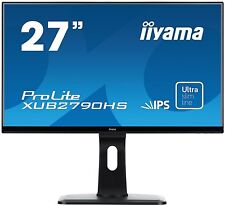 Iiyama ProLite xub2790hs 27 POLLICI LED IPS MONITOR - Full HD,5MS,Altoparlanti,