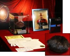 Star Trek DS9 Prop TRIBBLE, Display CASE, Brooks Signed Autograph, COA UACC, DVD
