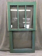 Vintage Window Double Hung Sash Cute Small Shabby Cottage Chic Old 148-17R