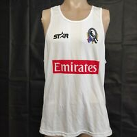 AFL Collingwood Magpies White Training Singlet Size L NWT