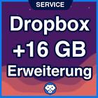 DROPBOX +16 GB UPGRADE-Service / Speicher Erweiterung - permanent - in 9 Tagen