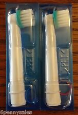 2 ORAL-B Braces Care Replacement Toothbrush Tooth Brush Heads Orthodontics Ortho