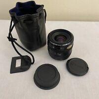 Canon EF 35-70mm f/3.5-4.5 Lens Metal Mount - Excellent - Lens Caps